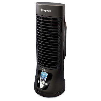 Honeywell 4 Speed Slim Mini Tower Oscillating Fan - Black