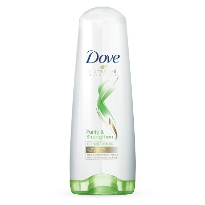 Shampoo & Conditioner: Dove Nutritive Solutions Purify & Strengthen