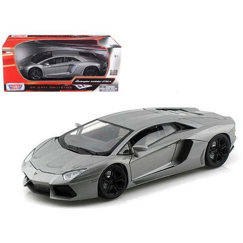 Lamborghini Aventador LP700-4 Grey 1/18 Diecast Car Model by Motormax - image 1 of 1