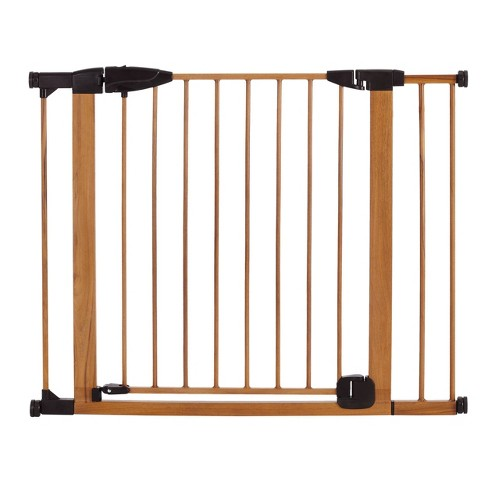 Toddleroo by North States Woodcraft Steel Auto Close Gate - image 1 of 4
