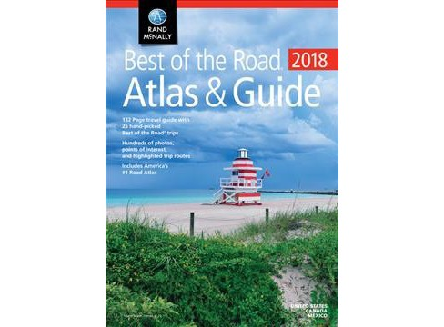 Rand Mcnally 2018 Best of the Road Atlas & Guide (Paperback) - image 1 of 1