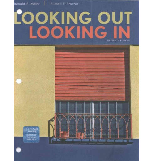 Looking Out, Looking In (Paperback) (Ronald B. Adler) - image 1 of 1