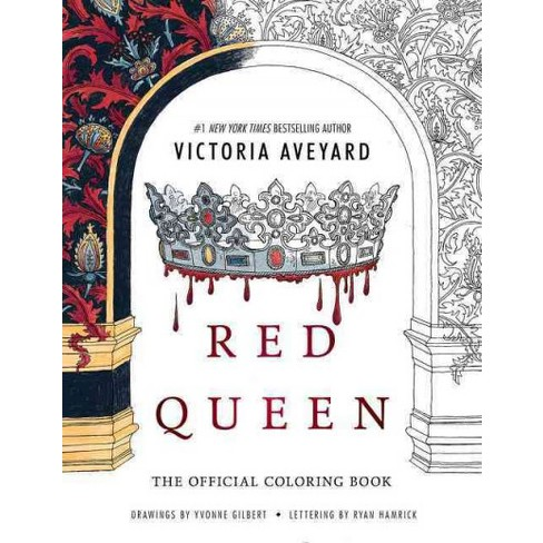 Red Queen Coloring Book Paperback Victoria Aveyard Target