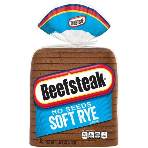 Beefsteak Soft Rye Loaf Bread - 18oz - image 1 of 3