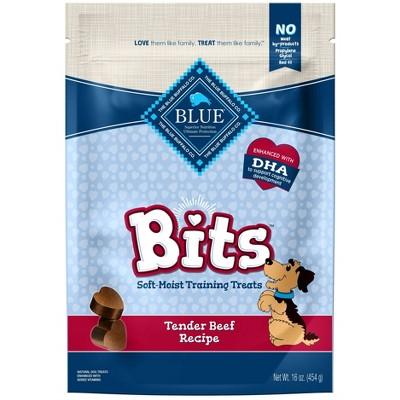 Blue Buffalo Bits Tender Beef Recipe Dog Treats - 16oz