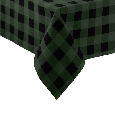 Farmhouse Living Holiday Buffalo Check Tablecloth - Elrene Home Fashions