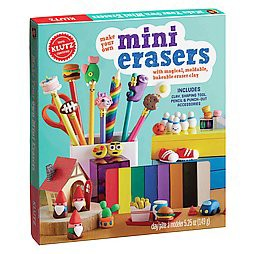 Make Your Own Mini Erasers (Paperback) (Klutz (COR))