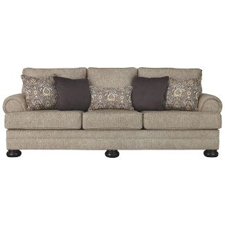 Kananwood Sofa Oatmeal Brown - Signature Design by Ashley