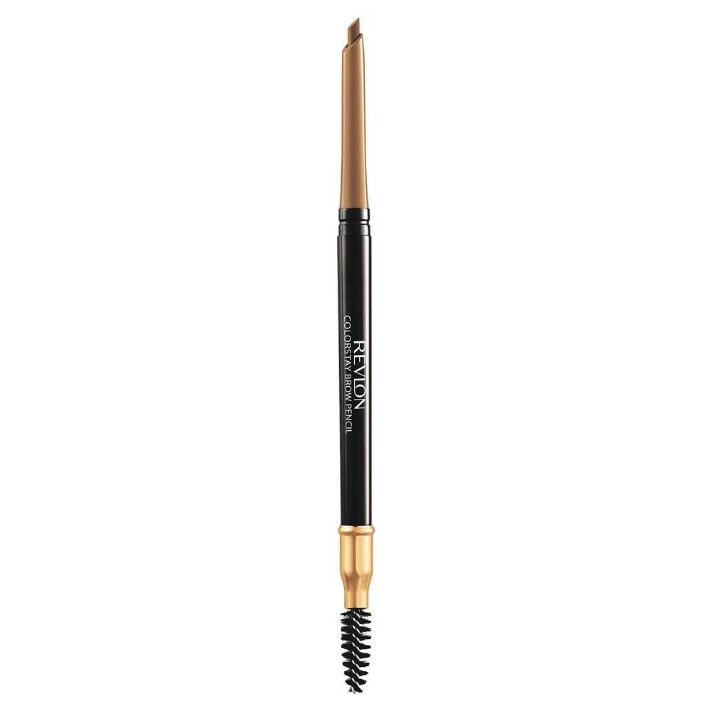 Image of Revlon ColorStay Brow Pencil with Brush and Angled Tip, Waterproof 205 Blonde, 205 Yellow