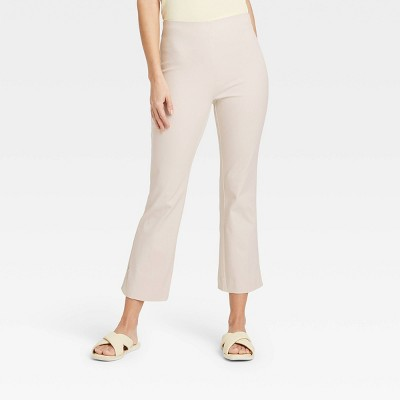 Women's High-Rise Flare Cropped Pants - A New Day™