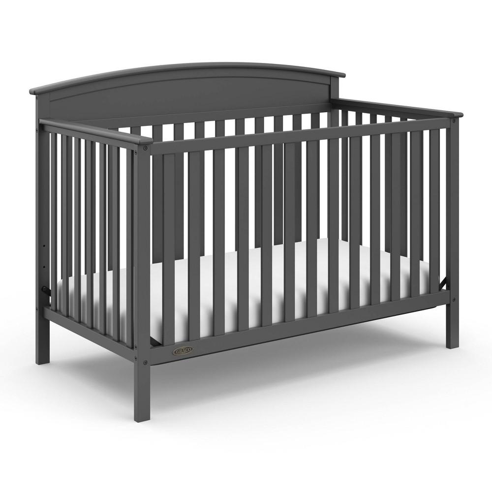 Graco Benton 4-in-1 Convertible Crib - Gray Promos