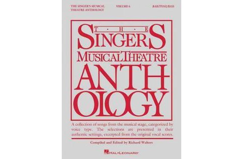 Singer's Musical Theatre Anthology : Baritone/Bass (Vol 6) (Paperback) - image 1 of 1