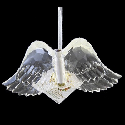 """Holiday Ornament 3.5"""" Spirit Of Christmas Wings Angel Message From Heaven  -  Tree Ornaments"""