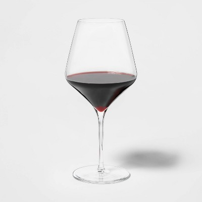 24oz 4pk Glass Traditional Red Wine Glasses - Threshold™