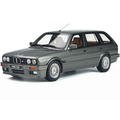 BMW E30 Touring 325I Dolphin Gray Metallic Limited Edition to 3000 pieces Worldwide 1/18 Model Car by Otto Mobile