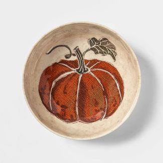 33oz Melamine Fall Pumpkin Dining Bowl - Threshold™