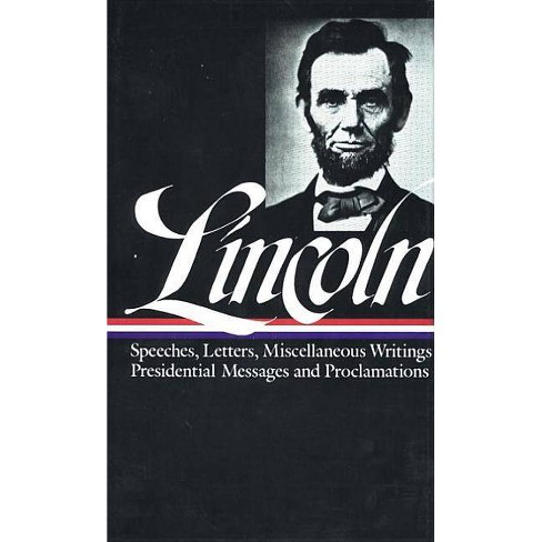 Abraham Lincoln: Speeches and Writings Vol. 2 1859-1865 (Loa #46) - (Hardcover) - image 1 of 1
