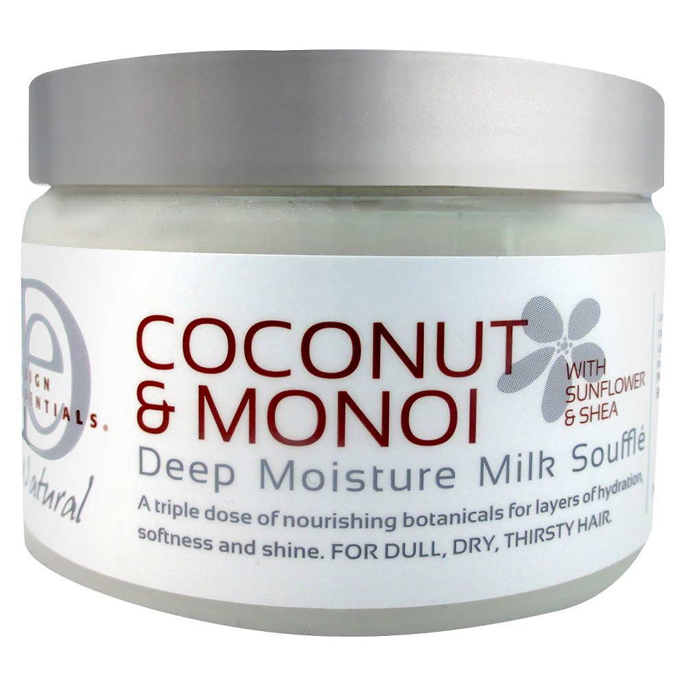Image of Design Essentials Coconut & Monoi Deep Moisture Milk Souffle Hair Cream - 12 fl oz