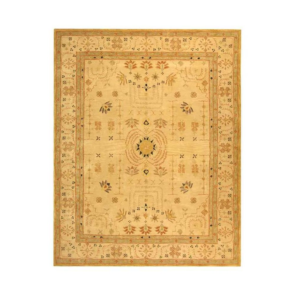 Sand Floral Tufted Area Rug 9'X12' - Safavieh, White