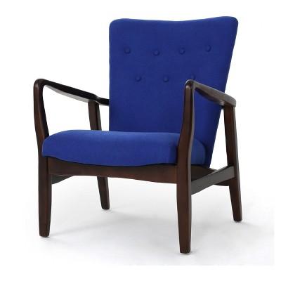 Bon Becker Upholstered Arm Chair   Christopher Knight Home