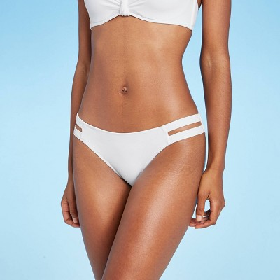Women's Strappy Side Cheeky Bikini Bottom - Shade & Shore™