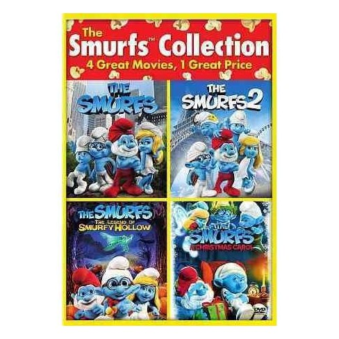 Smurfs Christmas.The Smurfs 2 The Smurfs The Smurfs The Legend Of Smurfy Hollow The Smurfs Christmas Carol Dvd