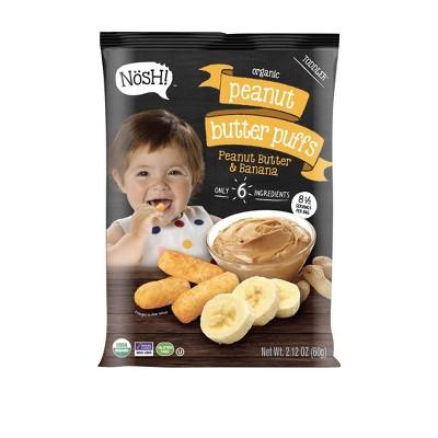 Nosh! Peanut Butter & Banana Baby Puffs - 2.12oz