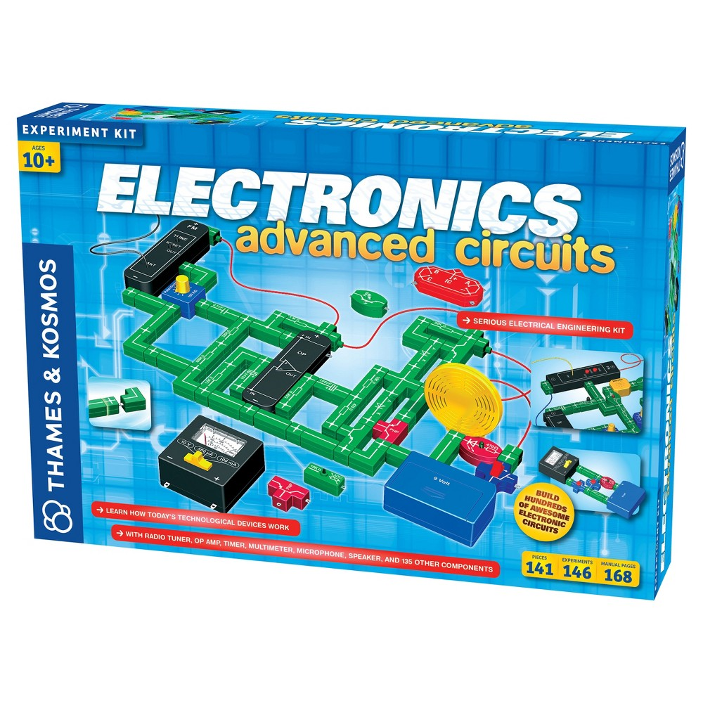 Electronic Snap Circuits Toys Games Compare Prices At Nextag Rc Rover Thames Kosmos Electronics Advanced