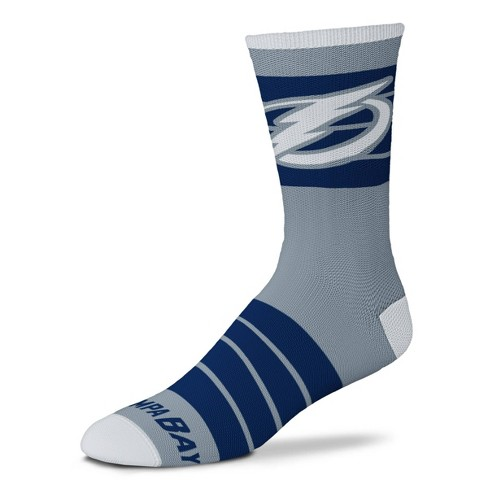 Nhl Tampa Bay Lightning Quad Socks M Target