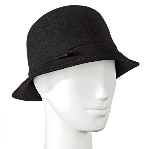 Cloche Hats - Merona™ Black - image 1 of 2