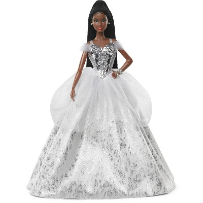 Barbie Signature 2021 Holiday Collector Doll - Brunette Braids