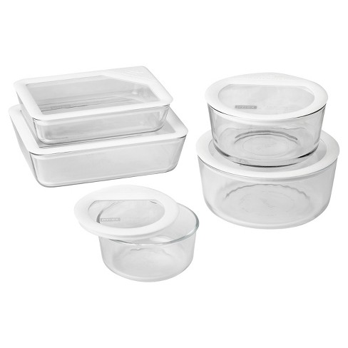 Pyrex 10pc Ultimate Glass Lid Set White - image 1 of 4