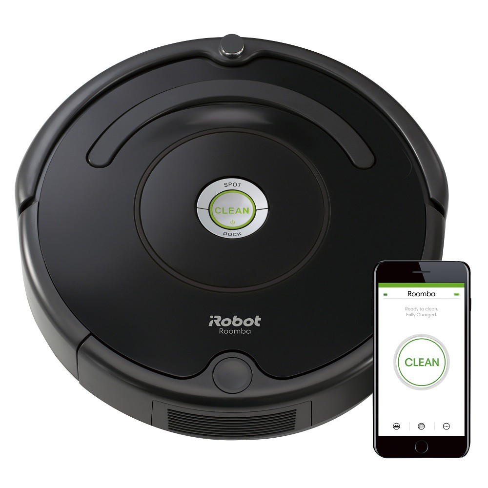 Image of iRobot Roomba 675 Wi-Fi Connected Robot Vacuum, Black