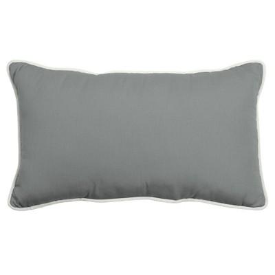 """14"""" x 24"""" Outdoor/Indoor Lumbar Pillow - Arden Selections"""