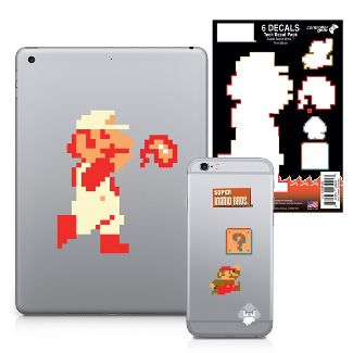 Nintendo Tech Decal Pack - Super Mario Bros. - Fire Mario