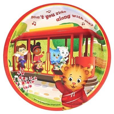 Daniel Tigers Neighborhood Dessert Plate