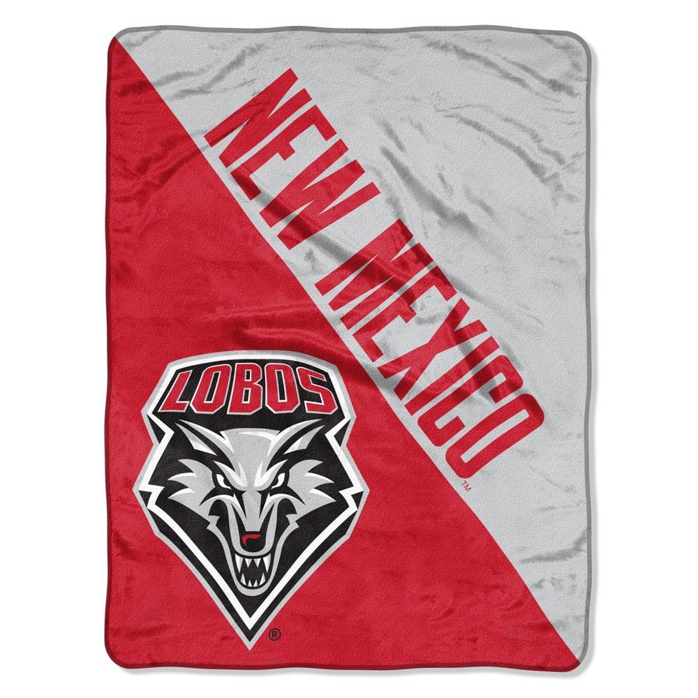 Ncaa New Mexico Lobos Micro Fleece Throw Blanket
