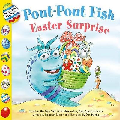 Pout-Pout Fish : Easter Surprise -  Reprint (Pout-Pout Fish Adventure) by Wes Adams (Paperback)