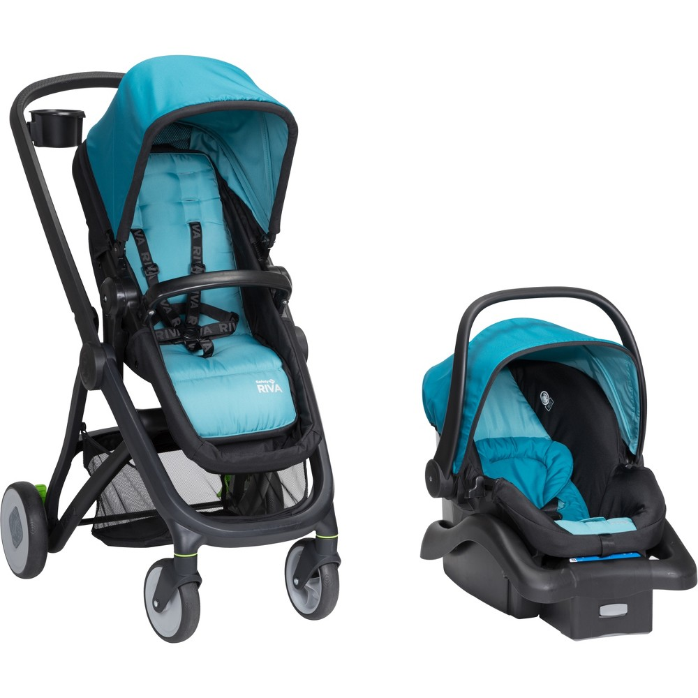 Safety 1st Riva 6-in-1 Flex Modular Travel System - Sky Blue