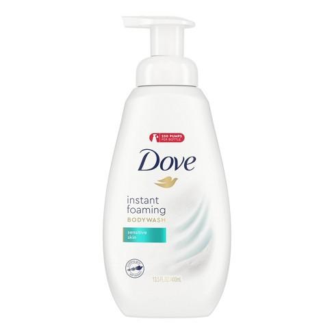Dove Sensitive Skin Sulfate Free Shower Foam Body Wash 13 5 Fl Oz Target