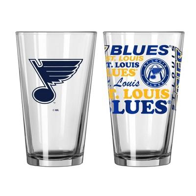 NHL St. Louis Blues Pint Glass Gift Set - 2pk