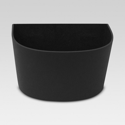 10  Recycled Wall Planter - Black - Smith & Hawken™
