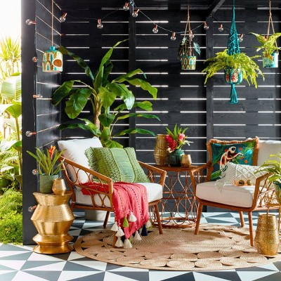 Eclectic Green & Gold Outdoor Collection - Opalhouse™