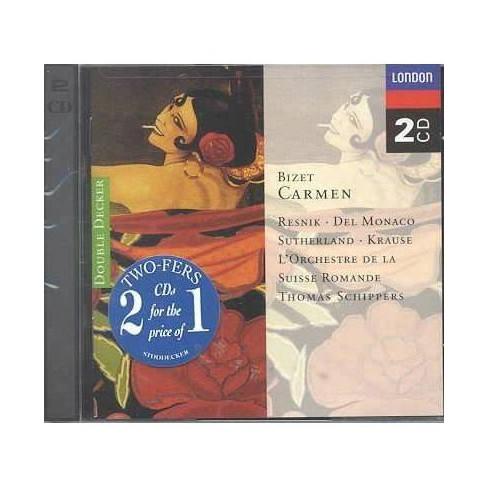 Bizet - Bizet:Carmen (CD) - image 1 of 1