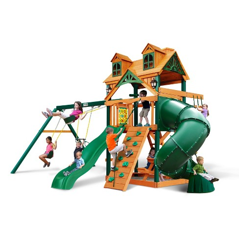 Gorilla Playsets Malibu Extreme Swing Set Target