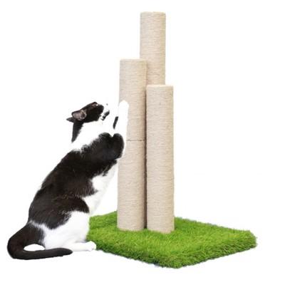 On2Pets Skyline Cat Scratching Post - Beige