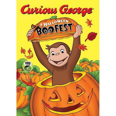 Halloween Boo Fest -  (Curious George) by H. A. Rey (Hardcover) - image 1 of 1