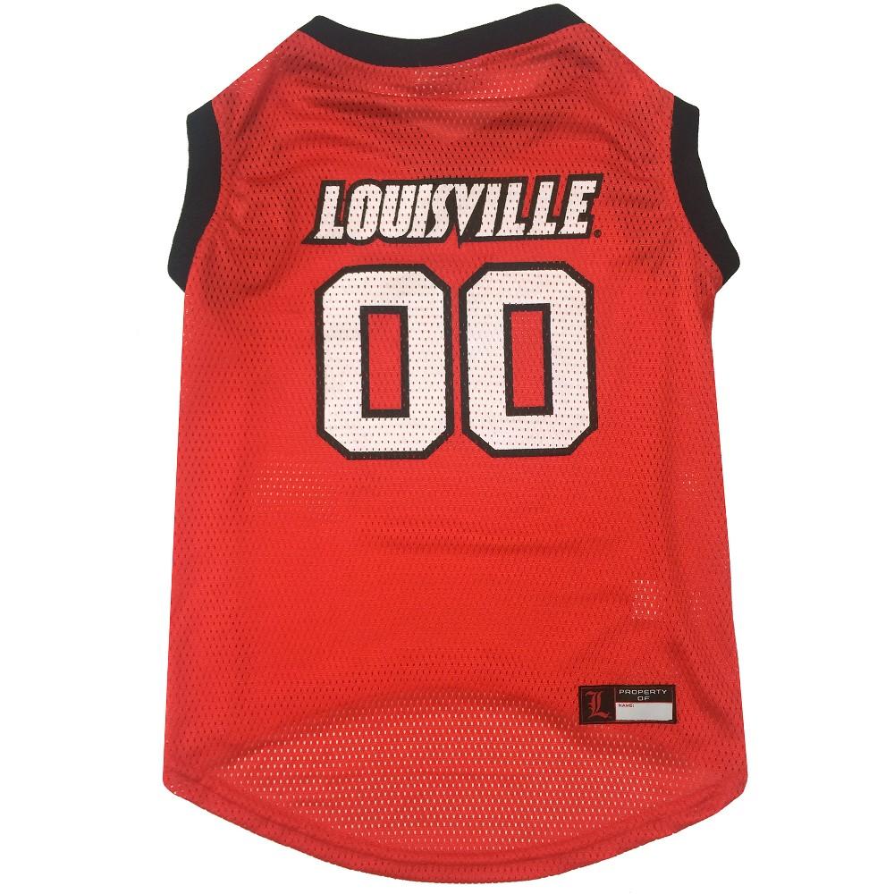Pets First Louisville Cardinals Basketball Jersey - XL, Multicolored