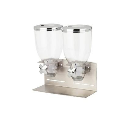 Honey-Can-Do Designer Edition Double Dispenser Silver