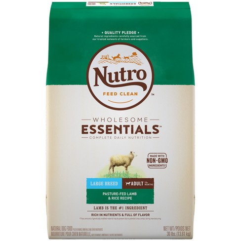 Nutro Wholesome Essentials Dry Dog Food For Adult Dogs With Lamb Rice Recipe 40lb